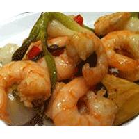 Crevettes Sichouan