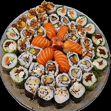 Plateau de sushis 48 pièces – Japon
